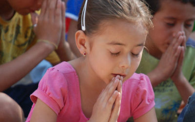 Teaching our Children to Pray by Zan Tyler